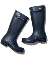 HUNTER - Original Tall Matte Boots - Lyst