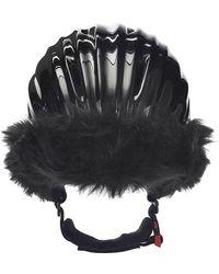 369c2d0ded2 Lyst - A Detacher Wool Helmet Hat in Brown