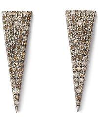 Sheryl Lowe - Triangle Earrings - Lyst