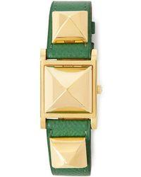 What Goes Around Comes Around - Hermès Green Medor Watch - Lyst