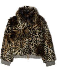 Stella McCartney - Laurel Faux Fur Jacket - Lyst