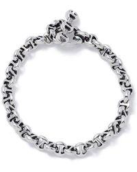 Hoorsenbuhs - Open-link Sterling Silver Bracelet - Lyst