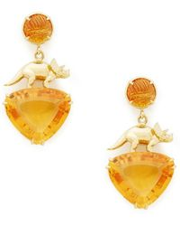 Daniela Villegas - Yellow-gold Abundance Earrings - Lyst