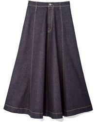 Stella McCartney - Denim Skirt - Lyst