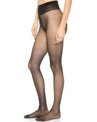 Wolford   Individual 10 Black Tights   Lyst