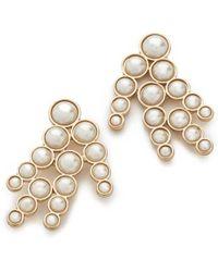 Lulu Frost - Pearl Spray Earrings - Lyst