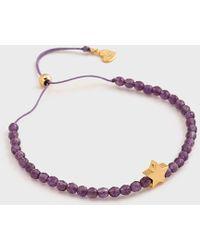 Gorjana - Mini + Me Power Gemstone Star Bracelet For Tranquility - Child - Lyst