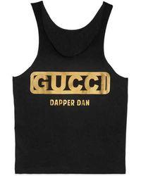b2fdbc4d48a Gucci - -dapper Dan Tank Top - Lyst · Gucci - Oversize T-shirt ...