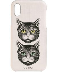 Gucci - Iphone X/xs Case With Mystic Cat - Lyst