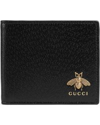 Gucci - Portafoglio con ricamo - Lyst