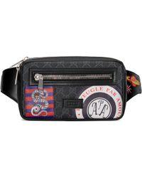 735c7184a05e Gucci - Sac ceinture Suprême GG souple avec motif Night Courrier - Lyst