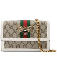 Gucci - Queen Margaret Mini GG Bag - Lyst