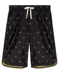 Gucci - Bees And Stars Nylon Swim Short - Lyst
