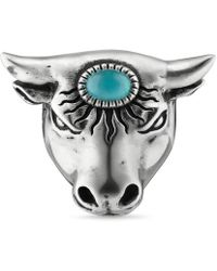 Gucci - Anger Forest Bull's Head Ring - Lyst