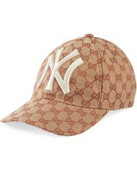 Gucci - Baseballkappe mit NY YankeesTM-Patch - Lyst