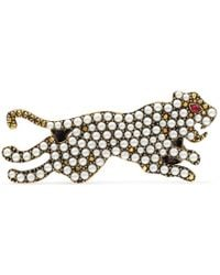 Gucci - Multi-finger Ring With Tiger - Lyst