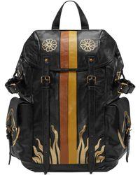Gucci - Sac à dos en cuir à imprimés métallisés - Lyst