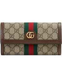 Gucci - Cartera Continental Ophidia GG - Lyst