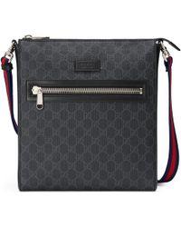 2e13f7fb3e31c Gucci - GG Supreme Messenger Bag - Lyst