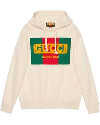 Gucci - Oversize -dapper Dan Sweatshirt - Lyst
