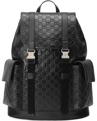 Gucci - Signature Backpack - Lyst