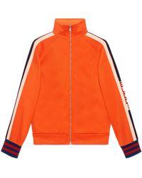 Gucci - Jacke aus technischem Jersey - Lyst