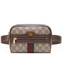 Gucci - Ophidia Gg Supreme Small Belt Bag - Lyst