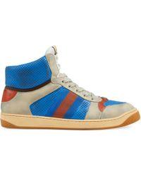 Gucci - 'Screener' High-Top-Sneakers - Lyst