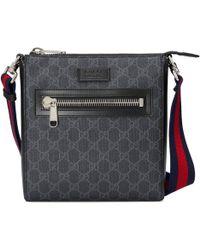 Gucci - Gg Supreme Small Messenger Bag - Lyst