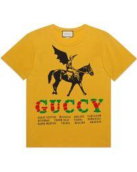 Gucci - Oversized-T-Shirt - Lyst