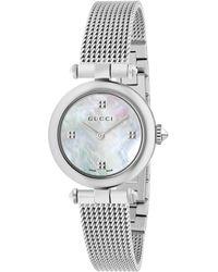 Gucci - Diamantissima Uhr, 27mm - Lyst