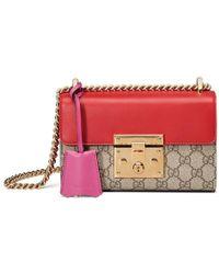Gucci - Padlock Small Gg Shoulder Bag - Lyst