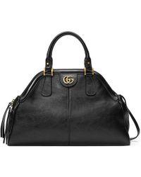Gucci | Medium Top Handle Tote | Lyst