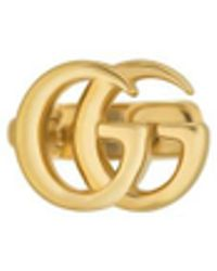 Gucci - GG Running Yellow Gold Single Earring - Lyst