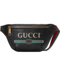 Gucci - Sac ceinture Print petite taille - Lyst