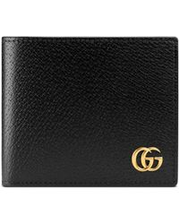 Gucci - GG Marmont Leather Coin Wallet - Lyst