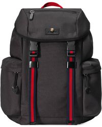 Gucci - Backpack With Embroidery - Lyst