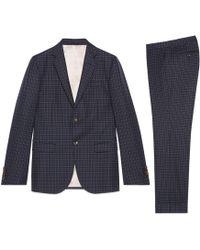 Gucci - Abito Monaco in lana con motivo a pois - Lyst