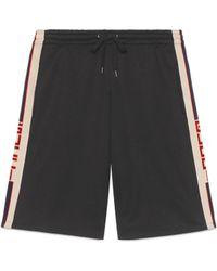 Gucci - Shorts aus technischem Jersey - Lyst