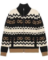 Gucci - Giacca in lana con GG speculare - Lyst