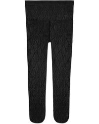 Gucci - Interlocking G Tights - Lyst