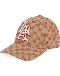 Gucci - Gorra de Béisbol con Parche LA AngelsTM - Lyst