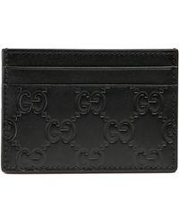 e5eb8877684 Gucci - Portefeuille avec pince à billets signature - Lyst