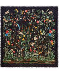 Gucci - Halstuch aus Modal und Seide mit Tian-Print - Lyst
