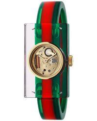 Gucci - Vintage Web Watch, 24x40mm - Lyst