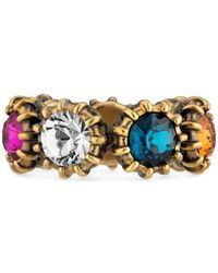 Gucci | Ring With Crystals | Lyst