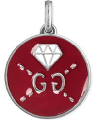 Gucci - Ghost Charm In Silver - Lyst