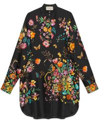 Gucci - Robe à fleurs - Lyst