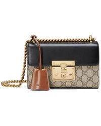 9f248fd3dd32 Gucci - Padlock Small GG Shoulder Bag - Lyst