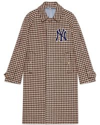 Gucci - Men's Coat With Ny Yankeestm Patches - Lyst